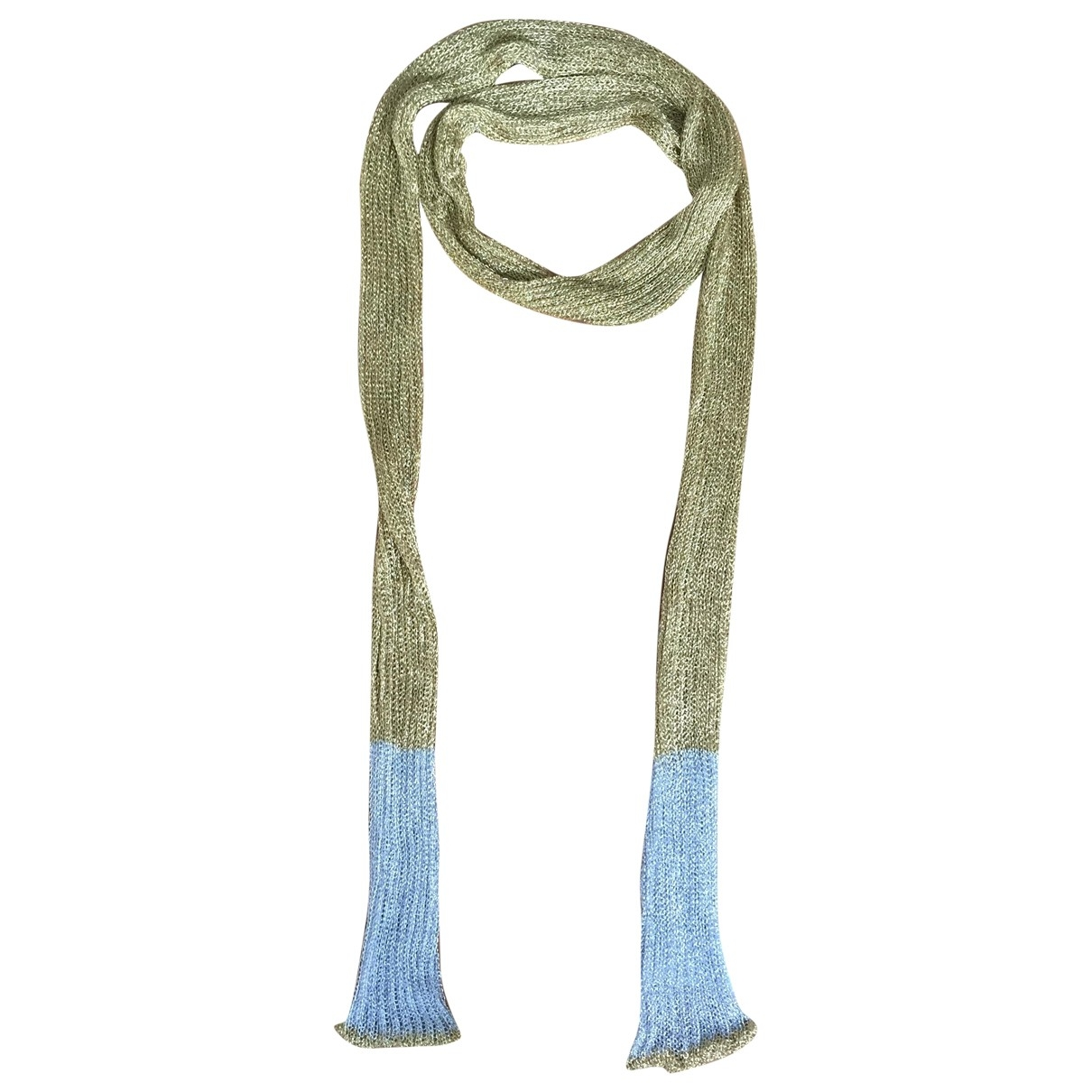 Hilfiger Collection \N Gold Glitter scarf for Women \N