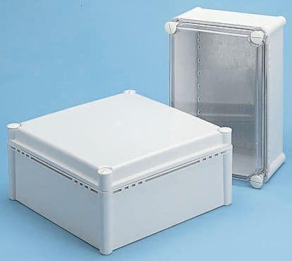 Fibox FEX, Grey Polycarbonate Enclosure, IP54, 278 x 278 x 180mm