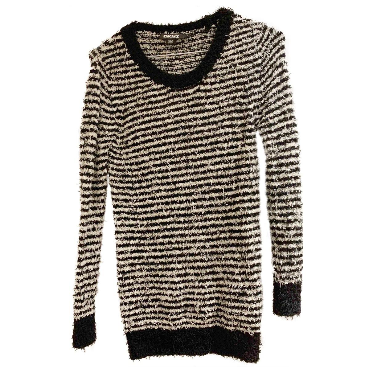 Dkny - Pull   pour femme en coton - noir