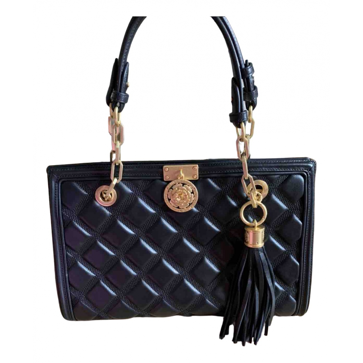 Guess \N Black Leather handbag for Women \N