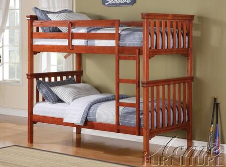 37035 Louis Philippe Cherry Twin over Twin Bunk
