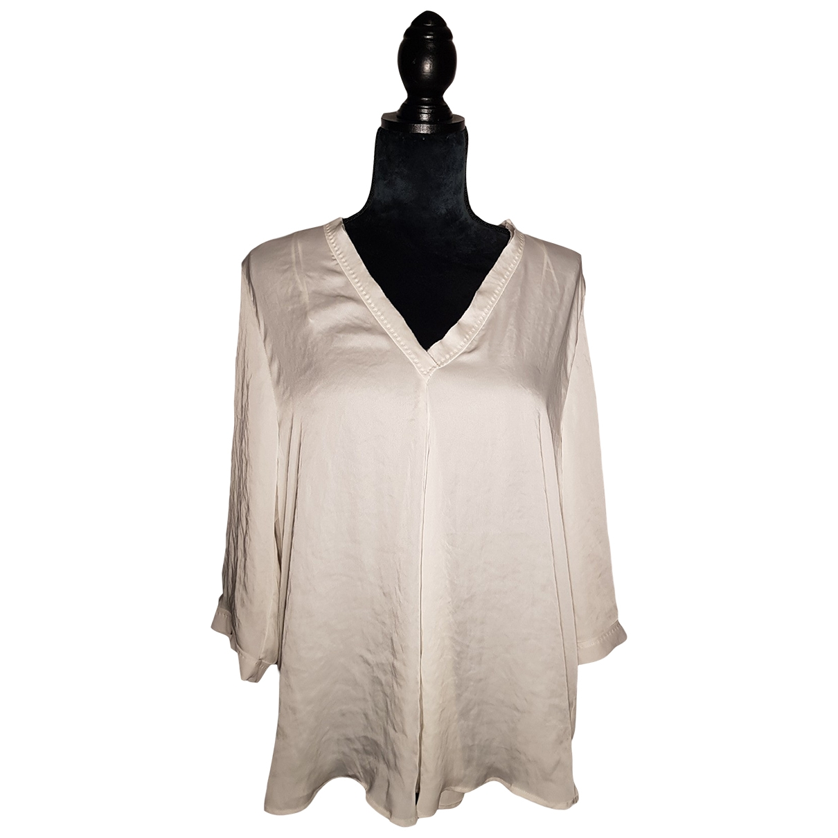 Marc Cain \N Top in  Beige Polyester