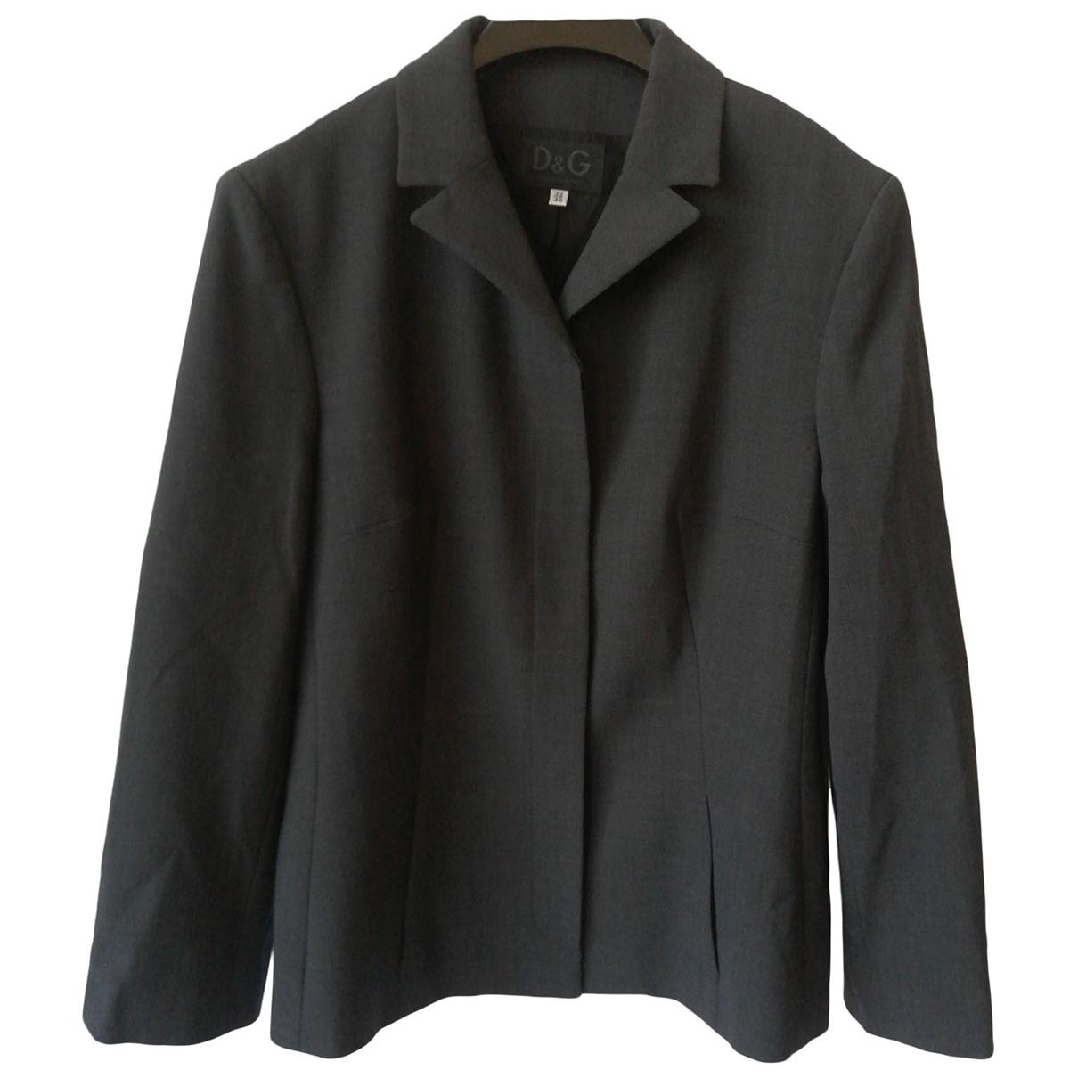 D&g \N Grey jacket for Women 46 IT