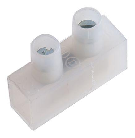 TE Connectivity Terminal Strip, 1 Way/Pole, 22 → 10 AWG Screw, 250 V