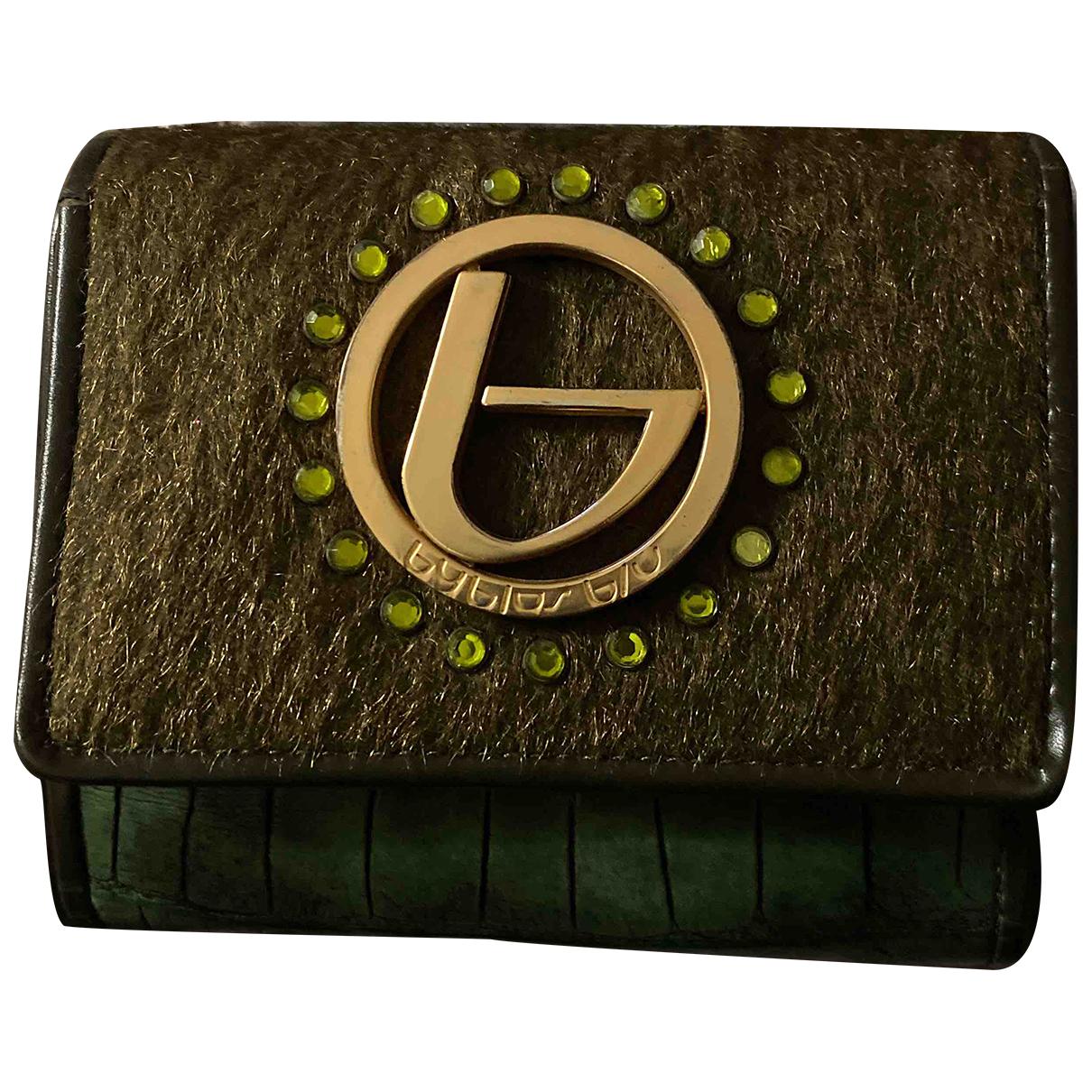 Byblos N Green wallet for Women N