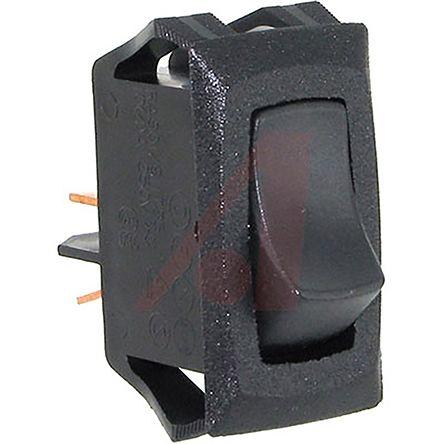 Carling Technologies Single Pole Single Throw (SPST), Latching Rocker Switch Panel Mount (50)