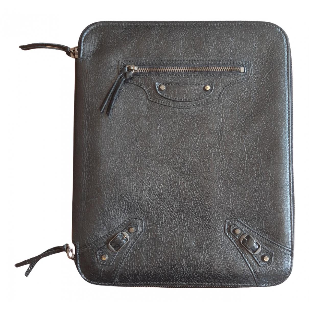 Balenciaga - Accessoires   pour lifestyle en cuir - noir