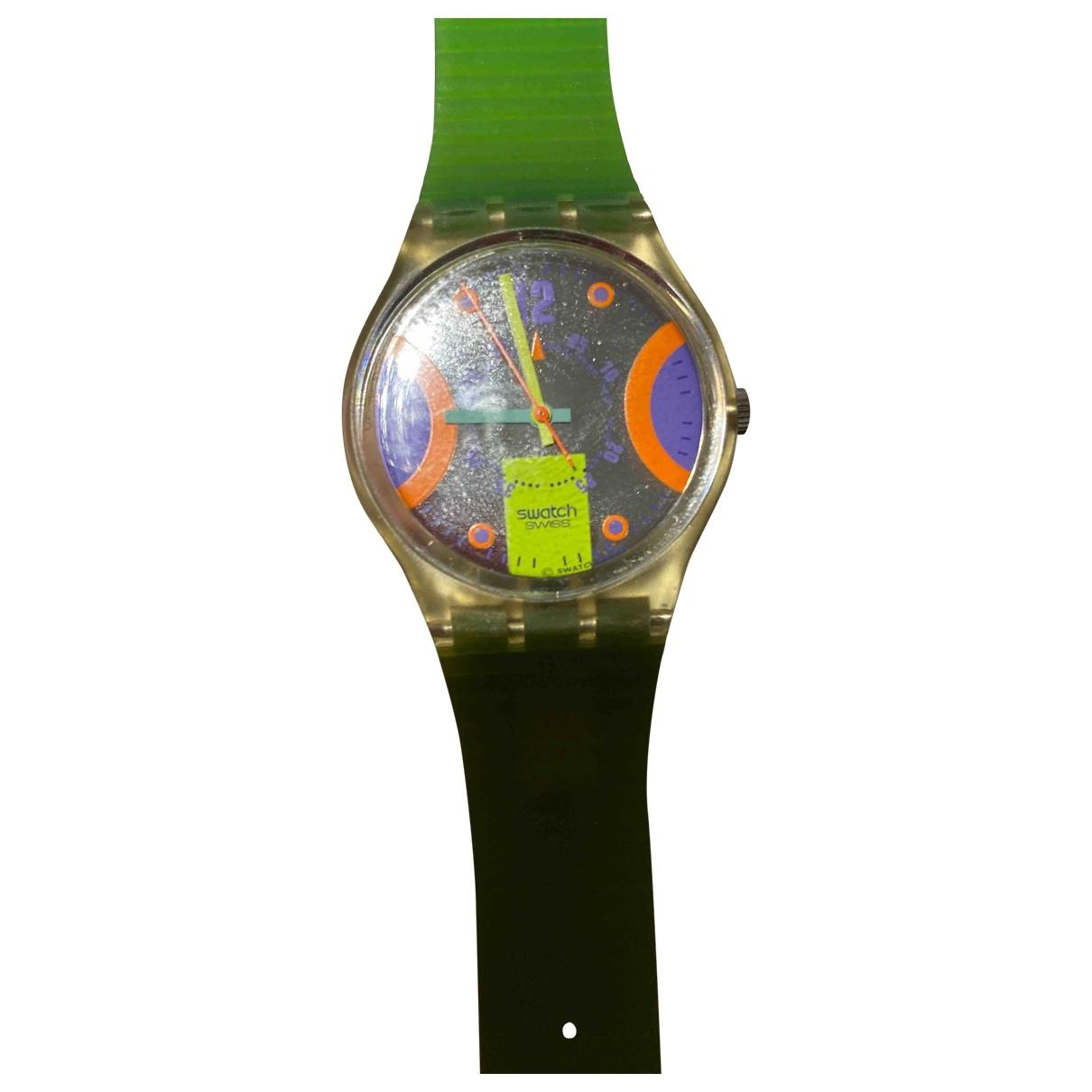 Swatch \N Yellow watch for Women \N