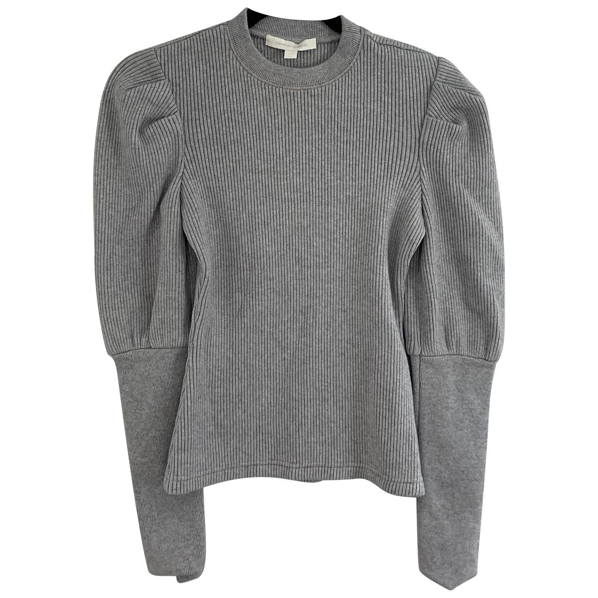 Jonathan Simkhai - Pull   pour femme en laine - gris
