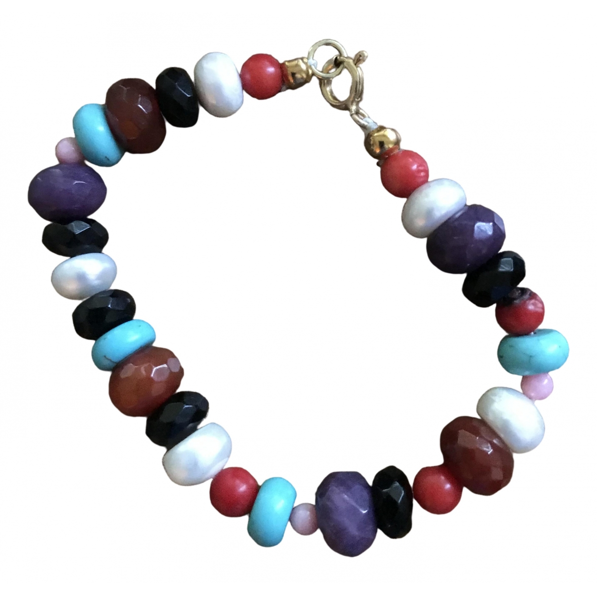 - Bracelet Turquoises pour femme en perles - multicolore