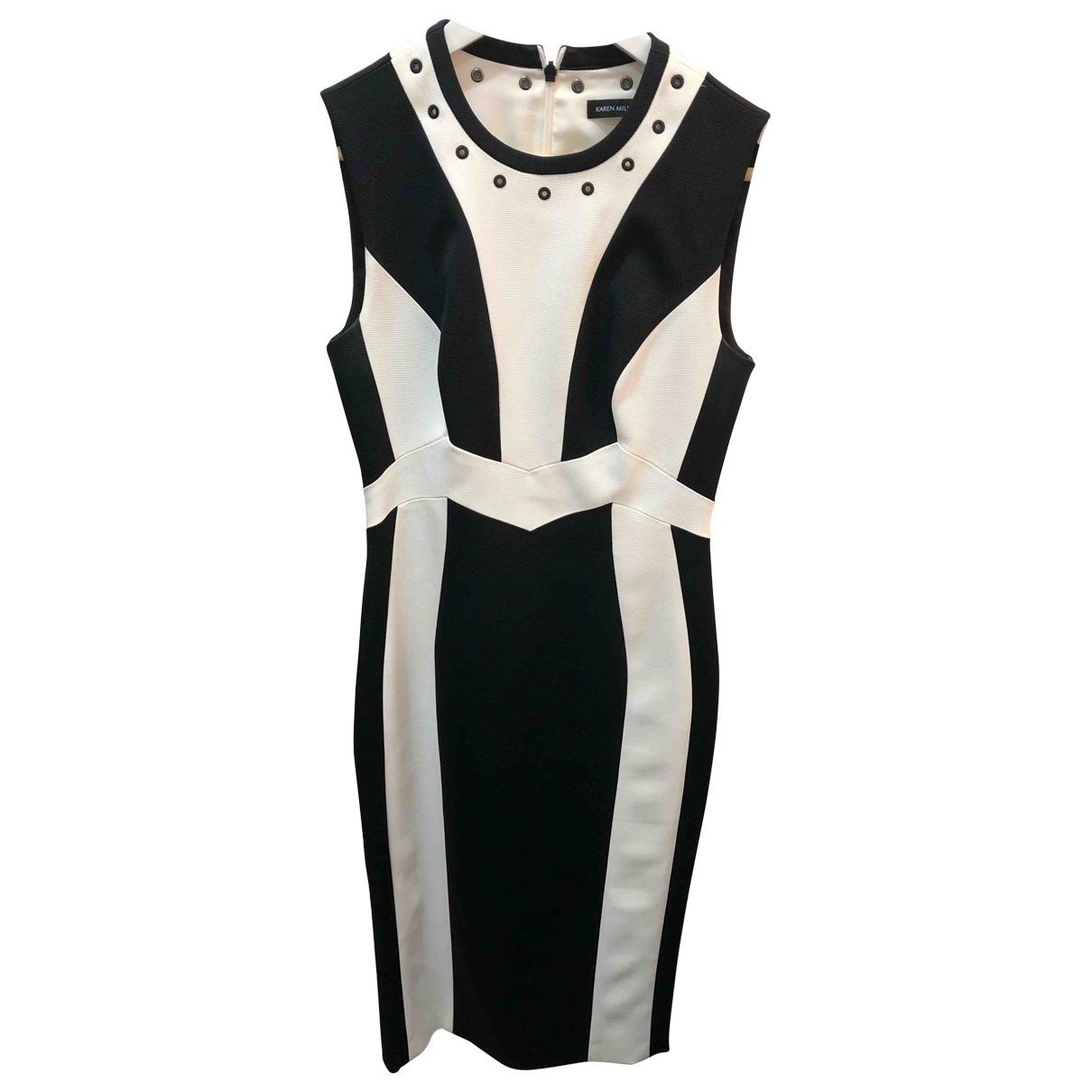 Karen Millen \N Beige Cotton dress for Women 10 UK