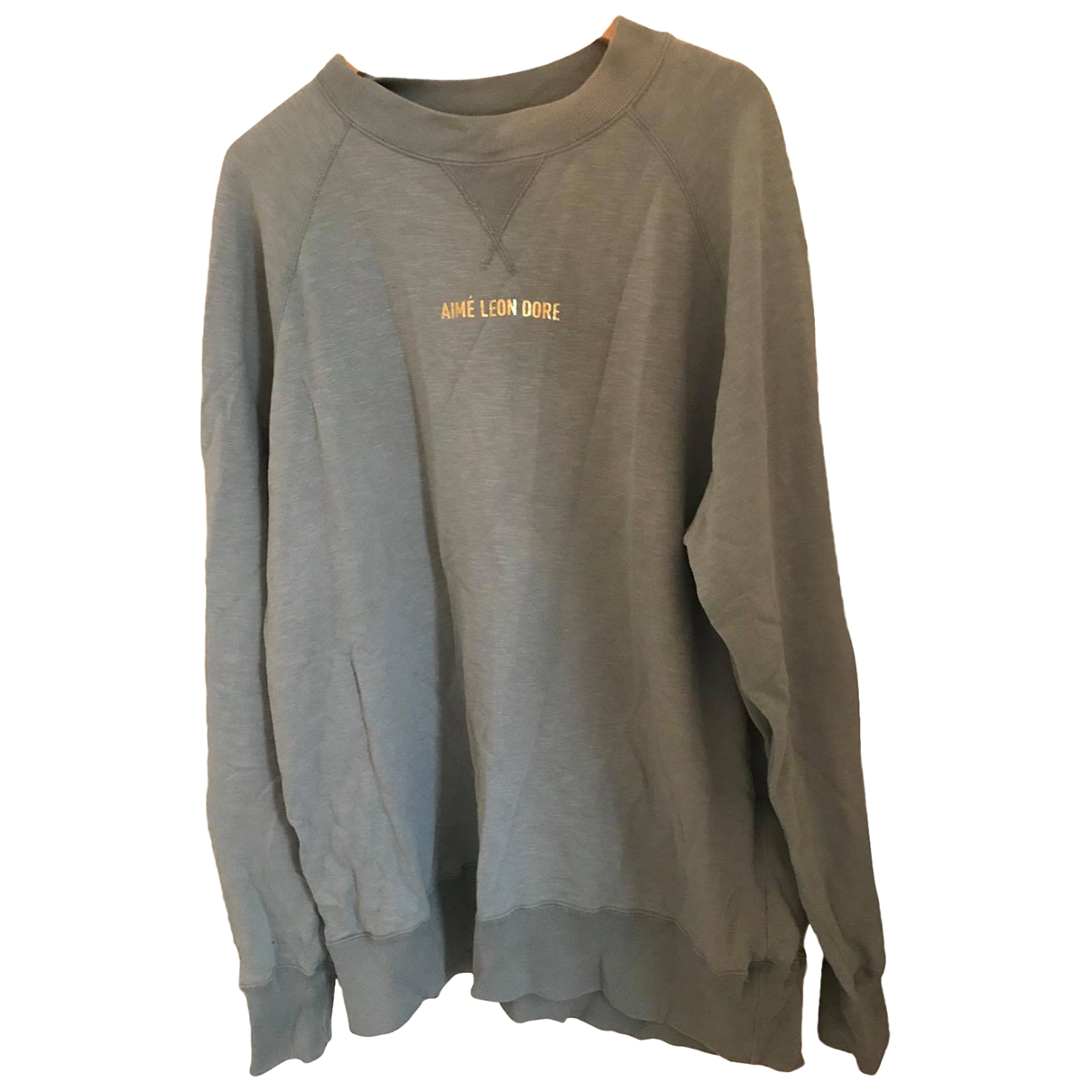 Aime Leon Dore \N Pullover.Westen.Sweatshirts  in  Blau Baumwolle