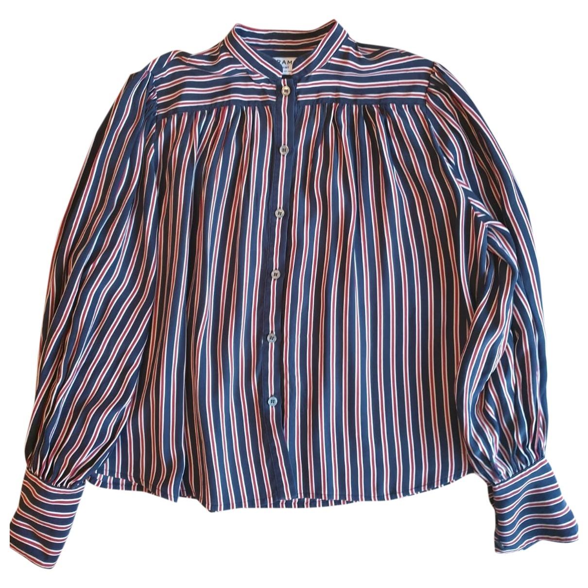 Frame Denim - Top   pour femme en soie - multicolore
