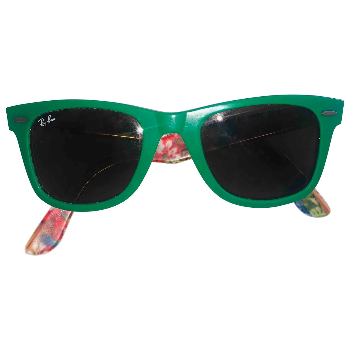 Ray-ban Original Wayfarer Green Sunglasses for Women \N