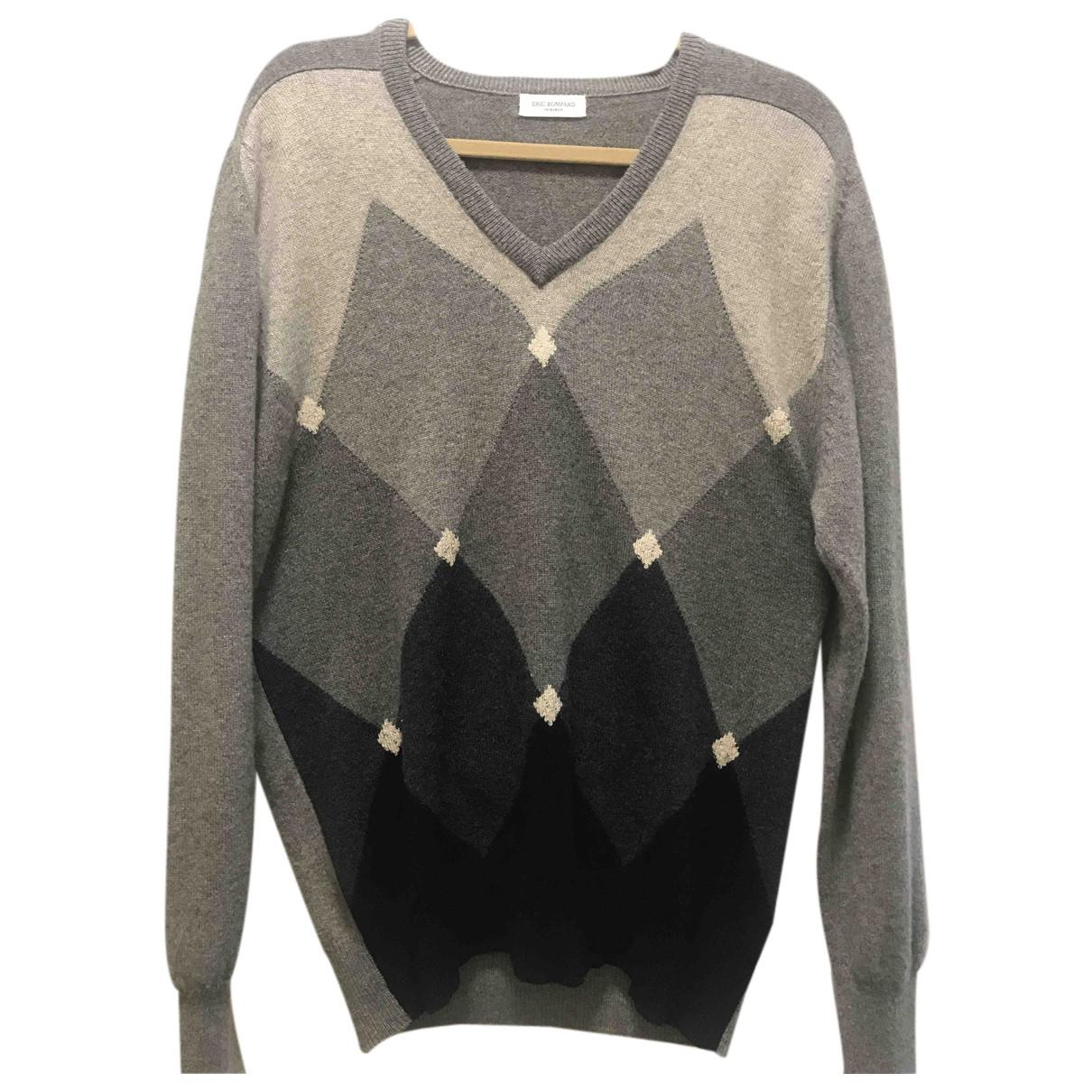 Eric Bompard N Grey Cashmere Knitwear for Women M International