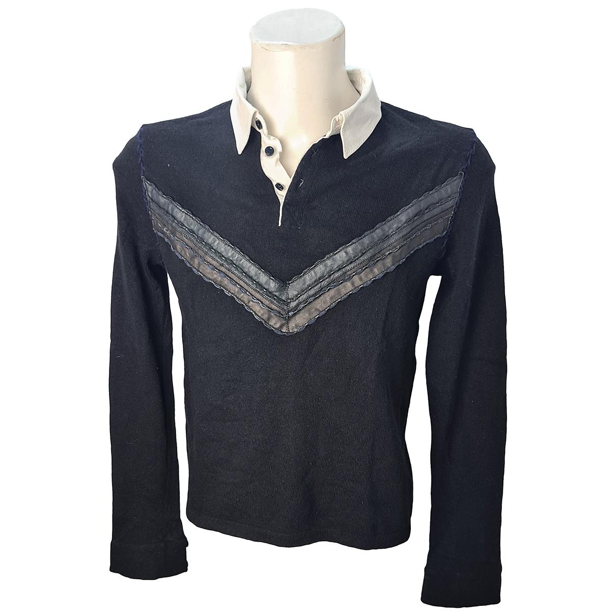 Roberto Cavalli \N Black Polo shirts for Men 50 IT