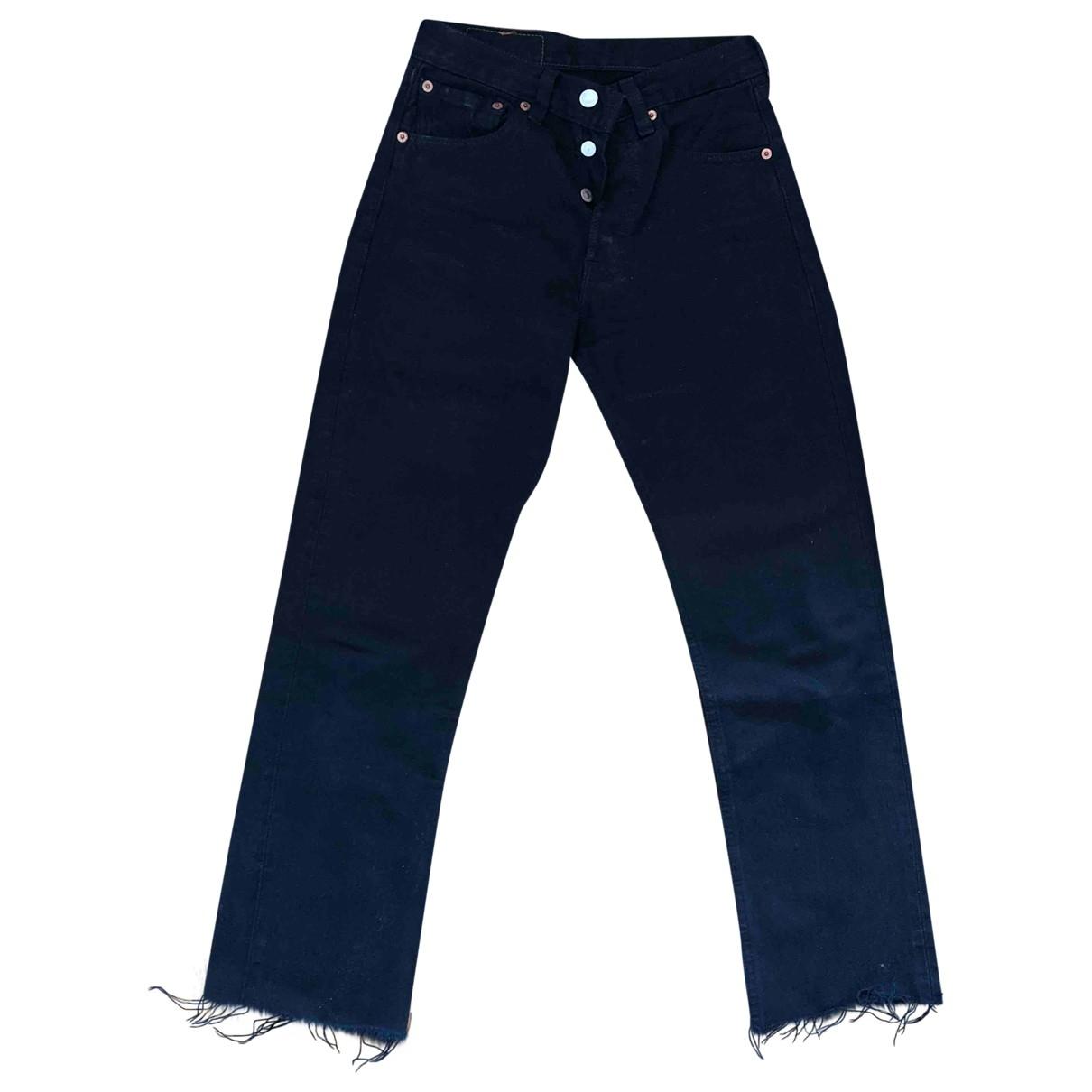 Levi's \N Black Denim - Jeans Trousers for Women XS International