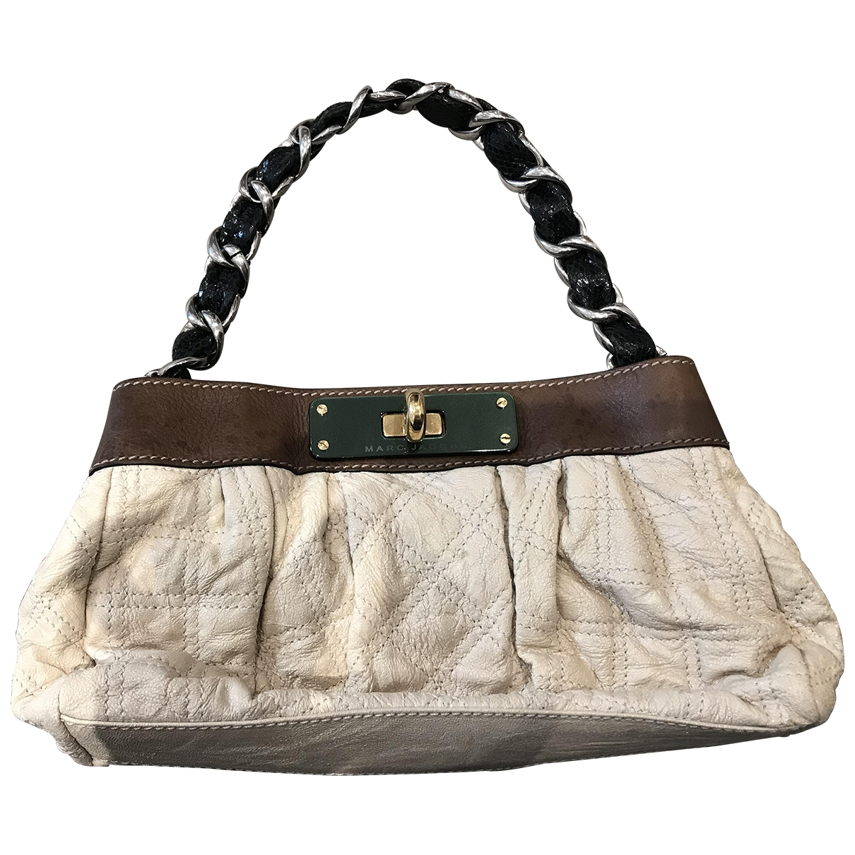 Marc Jacobs \N Ecru Leather handbag for Women \N