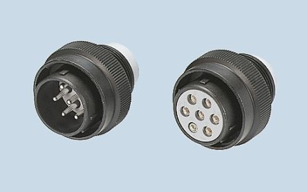 JAE Connector, 73 contacts Cable Mount Plug, Crimp IP55