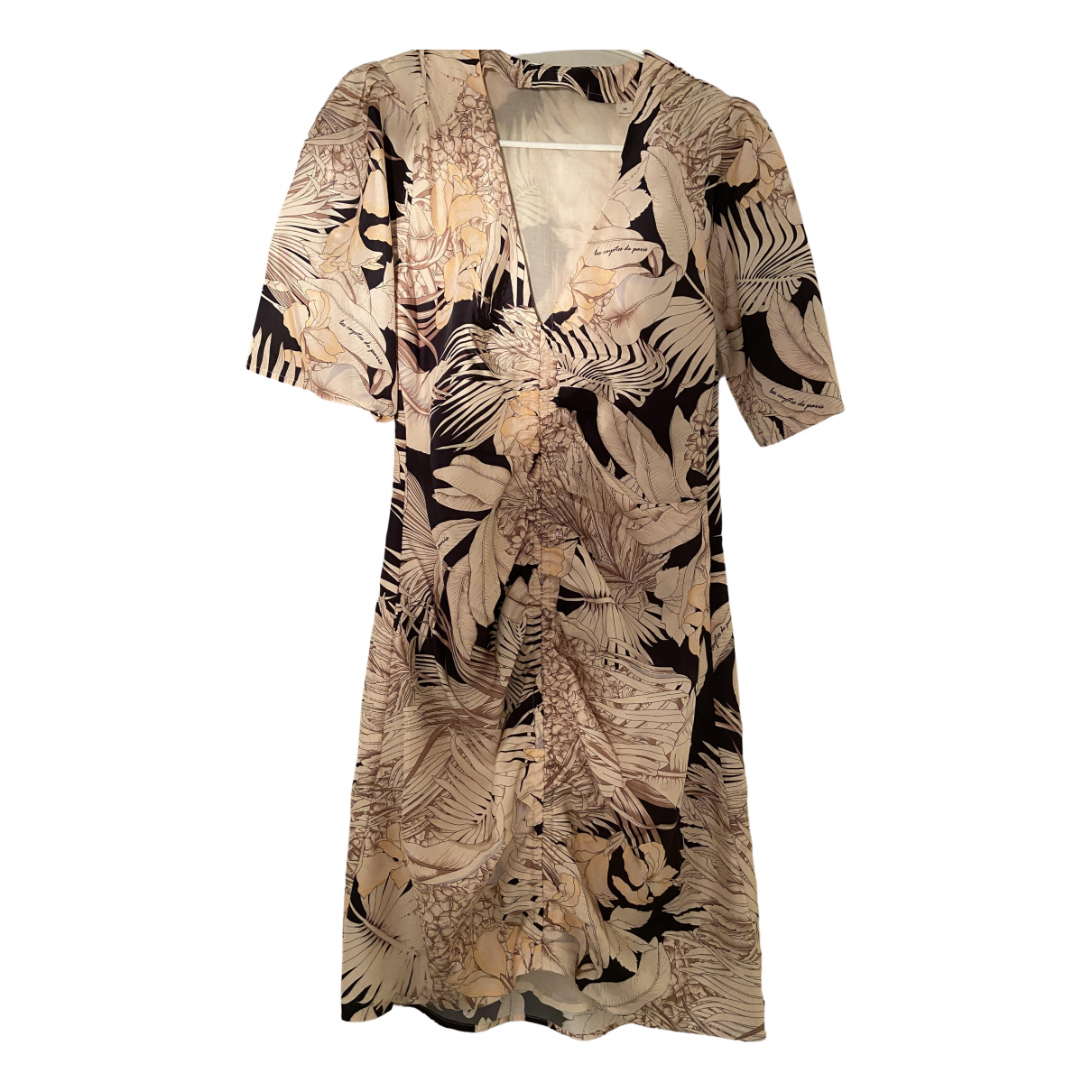 Les Coyotes De Paris - Robe   pour femme en soie - ecru
