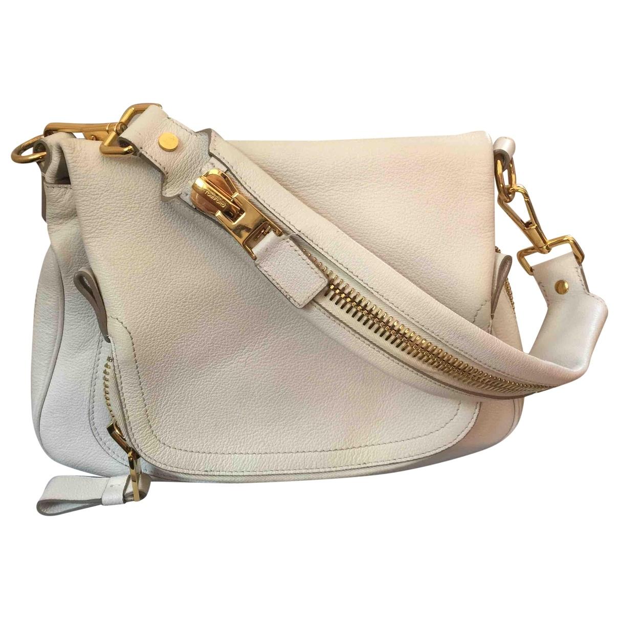 Tom Ford Jennifer White Leather handbag for Women \N