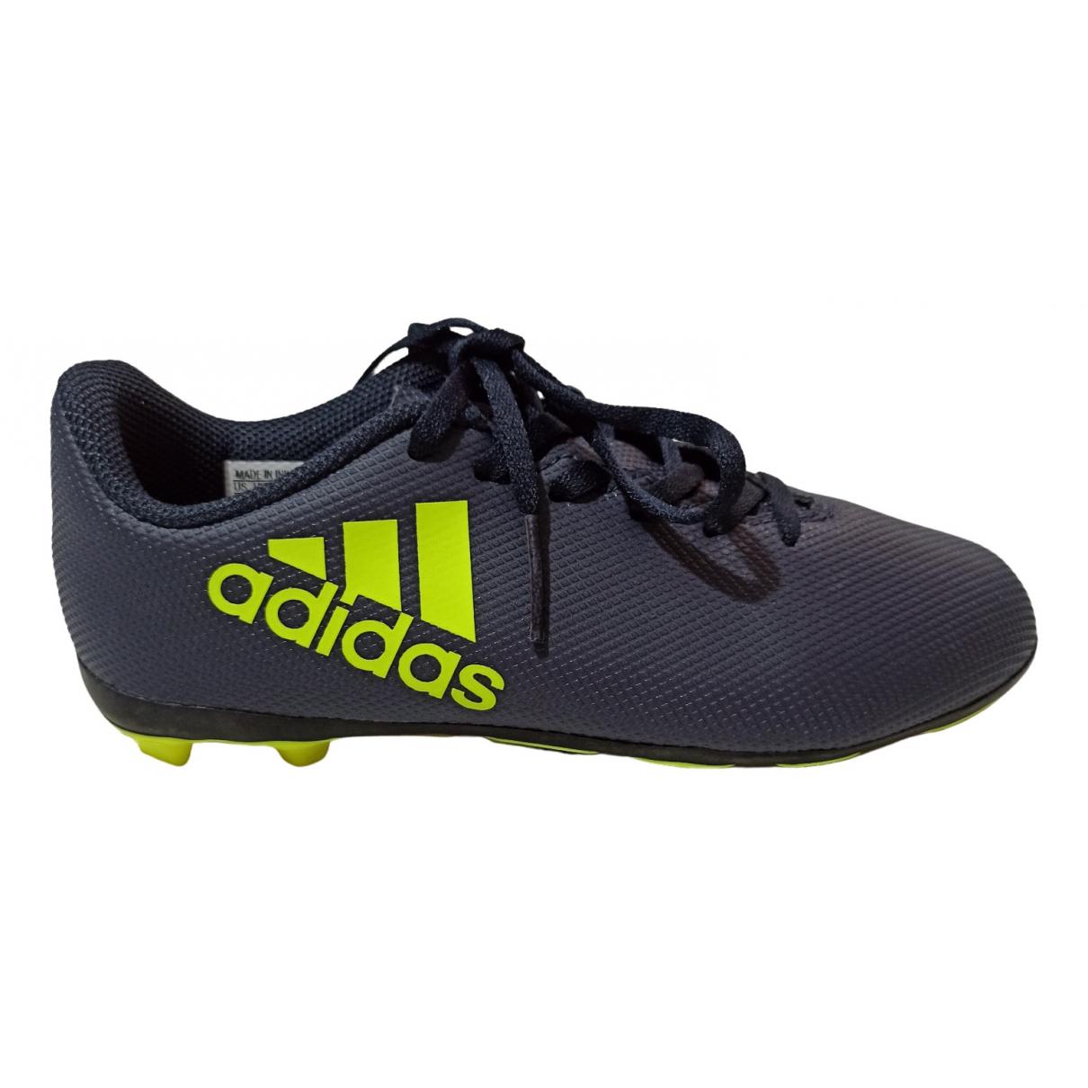 Adidas \N Sneakers in  Blau Polyester