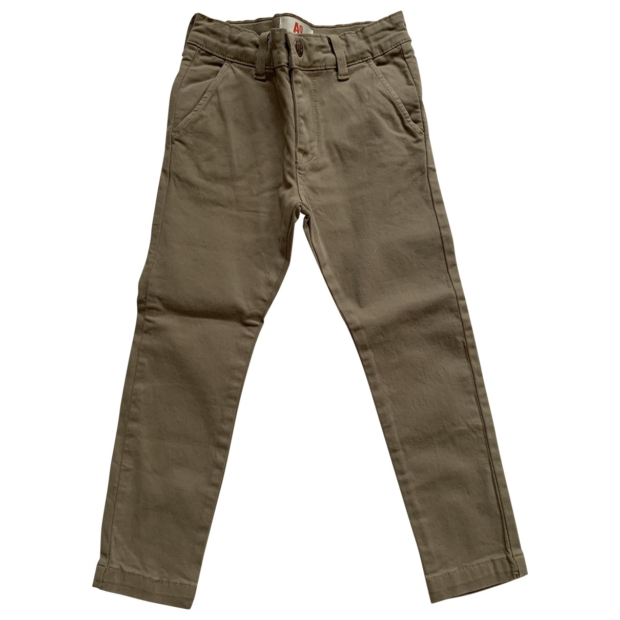 American Outfitters \N Khaki Cotton Trousers for Kids 6 years - up to 114cm FR