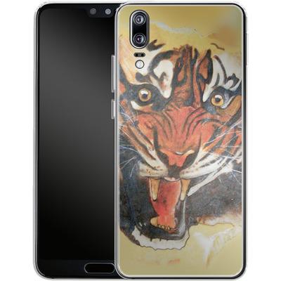 Huawei P20 Silikon Handyhuelle - Tiger von Kaitlyn Parker