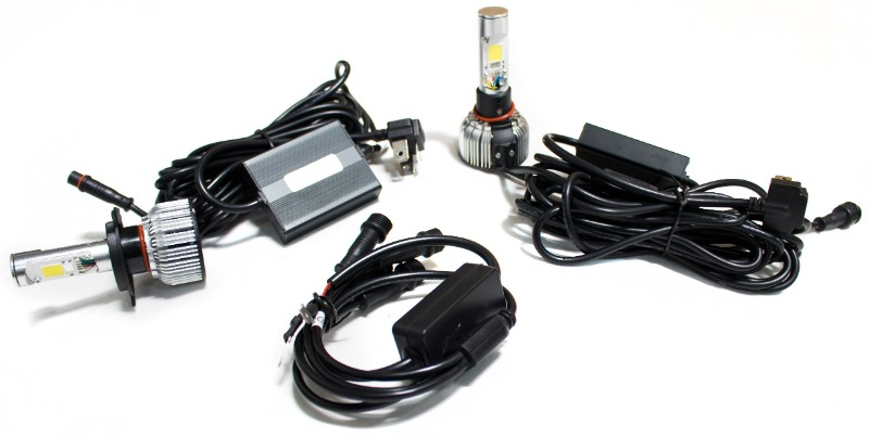 Race Sport Lighting 9004CARGB 9004 Demon Eye  LED Headlight Dual Function Conversion Kits