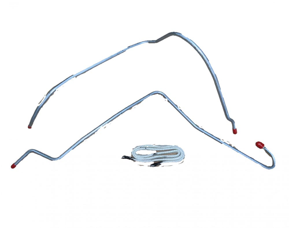 Fine Lines RCH6601SS Thermal Choke Control Line For 66-70 Hemi Choke Line Kit Stainless