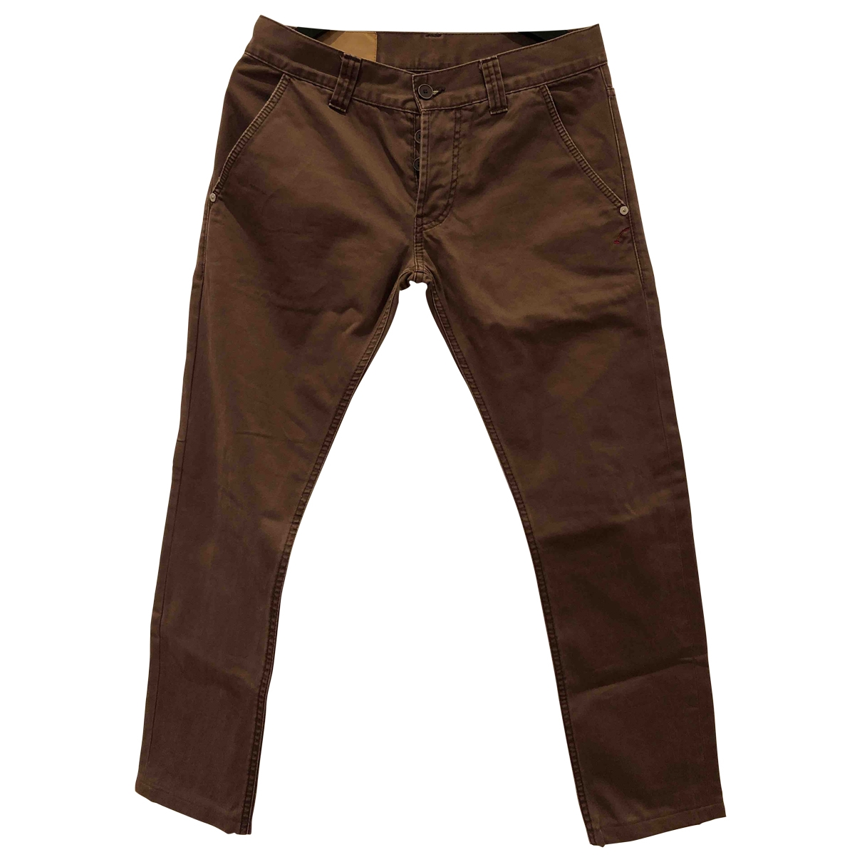 Dondup \N Brown Cotton Jeans for Men 30 US