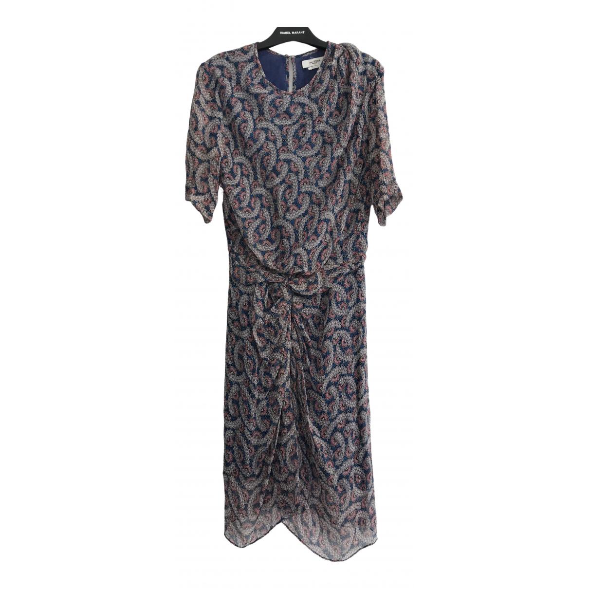 Isabel Marant Etoile \N Multicolour Silk dress for Women 34 FR