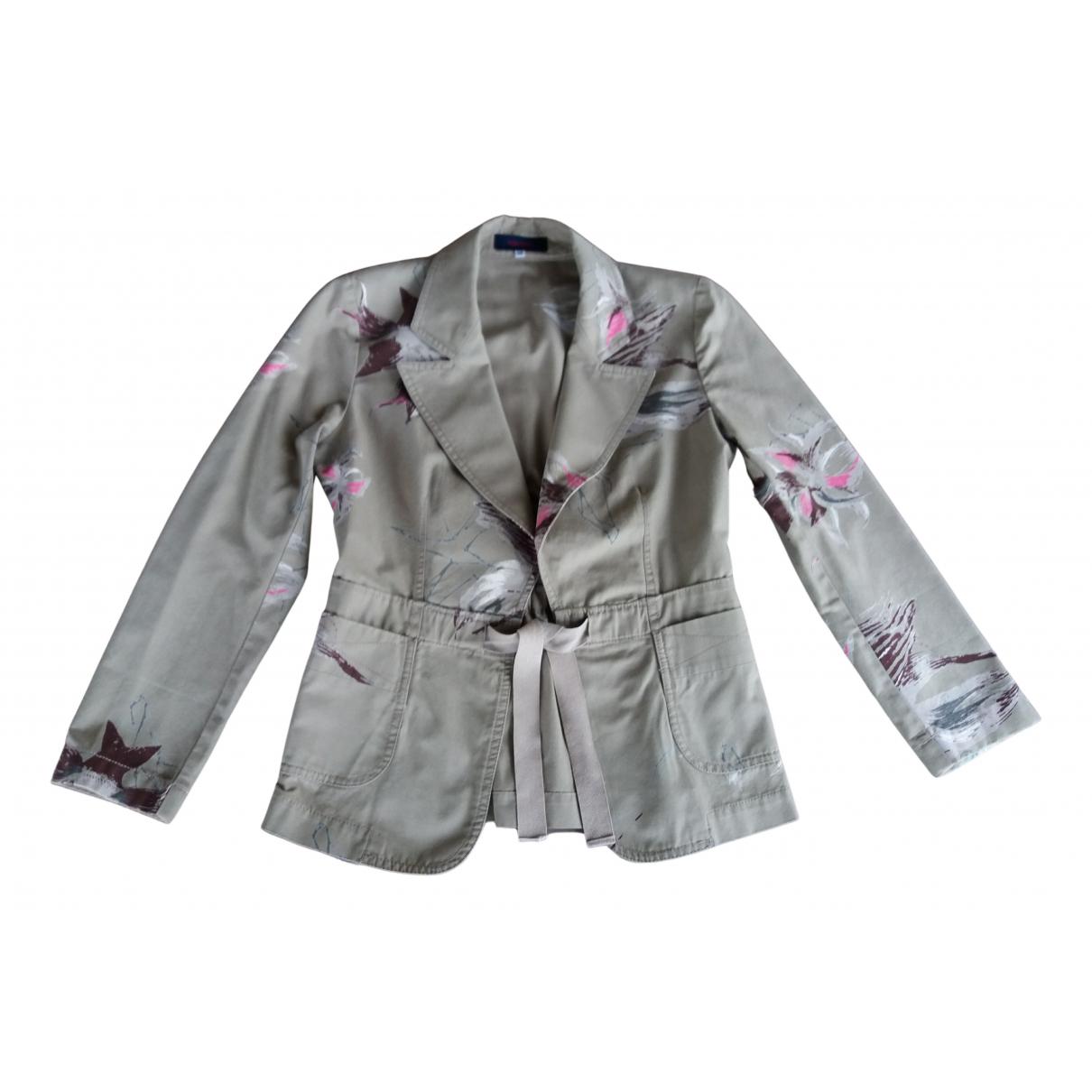 Kenzo N Khaki Cotton jacket for Women 38 FR