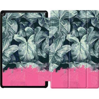 Amazon Fire HD 10 (2018) Tablet Smart Case - Sweet Pink on Jungle von Emanuela Carratoni