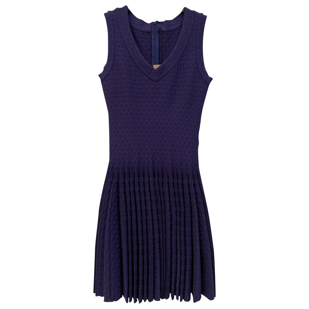 Alaia - Robe   pour femme en laine - violet