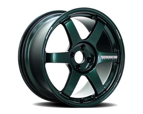 Volk Racing WVDUCW20KIG TE37 Ultra Large PCD Wheel 22x9 6x139.7 20mm Racing Green