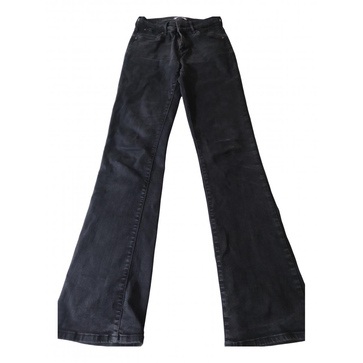 Wrangler \N Black Cotton Jeans for Women 26 US