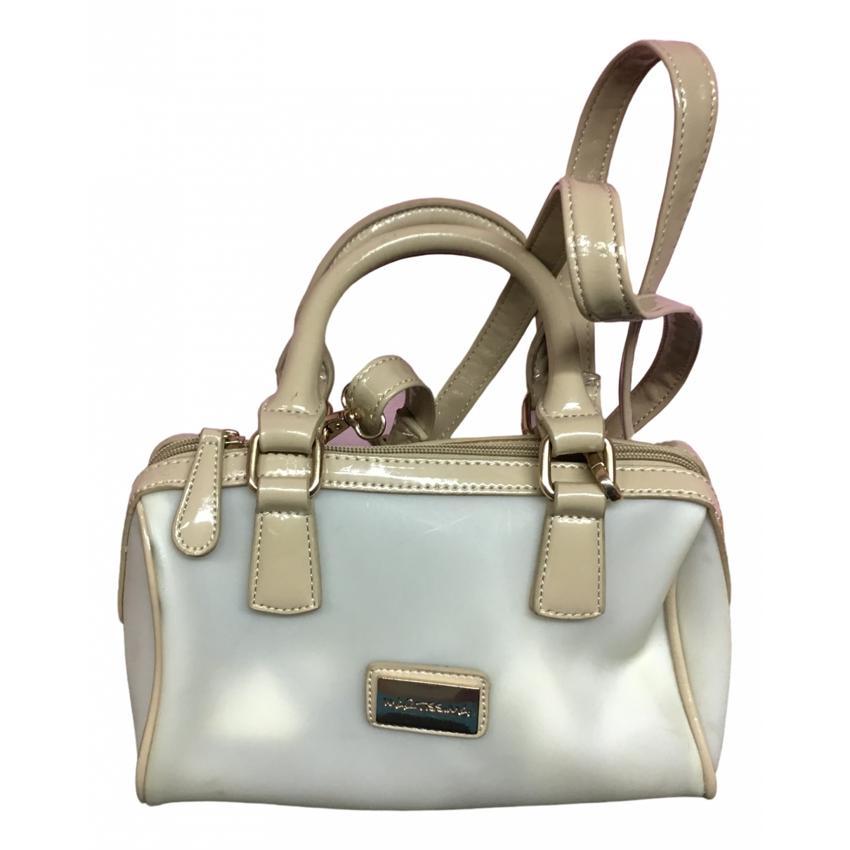 Non Signé / Unsigned \N Beige handbag for Women \N