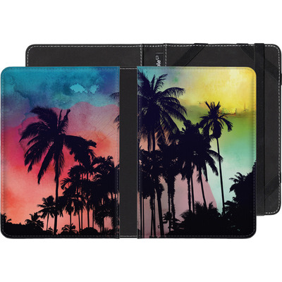 Pocketbook Touch Lux eBook Reader Huelle - Palm Trees at Sunset von Mark Ashkenazi