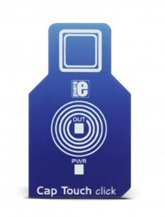 MikroElektronika , Cap Touch Click Capacitive Touch Sensor mikroBus Click Board, AT42QT1010 - MIKROE-2888