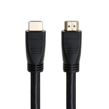 25ft 24AWG CL2 High-Speed HDMI® Cable With Ethernet w/ Net Jacket - Black - Primecables - 25pi