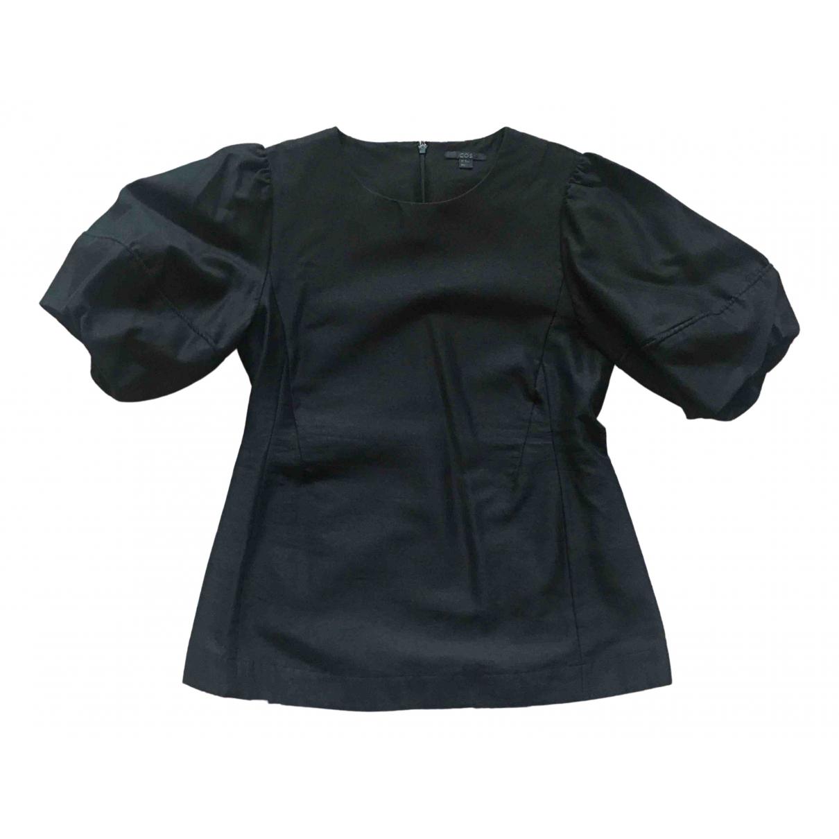 Cos \N Black Silk  top for Women 40 FR