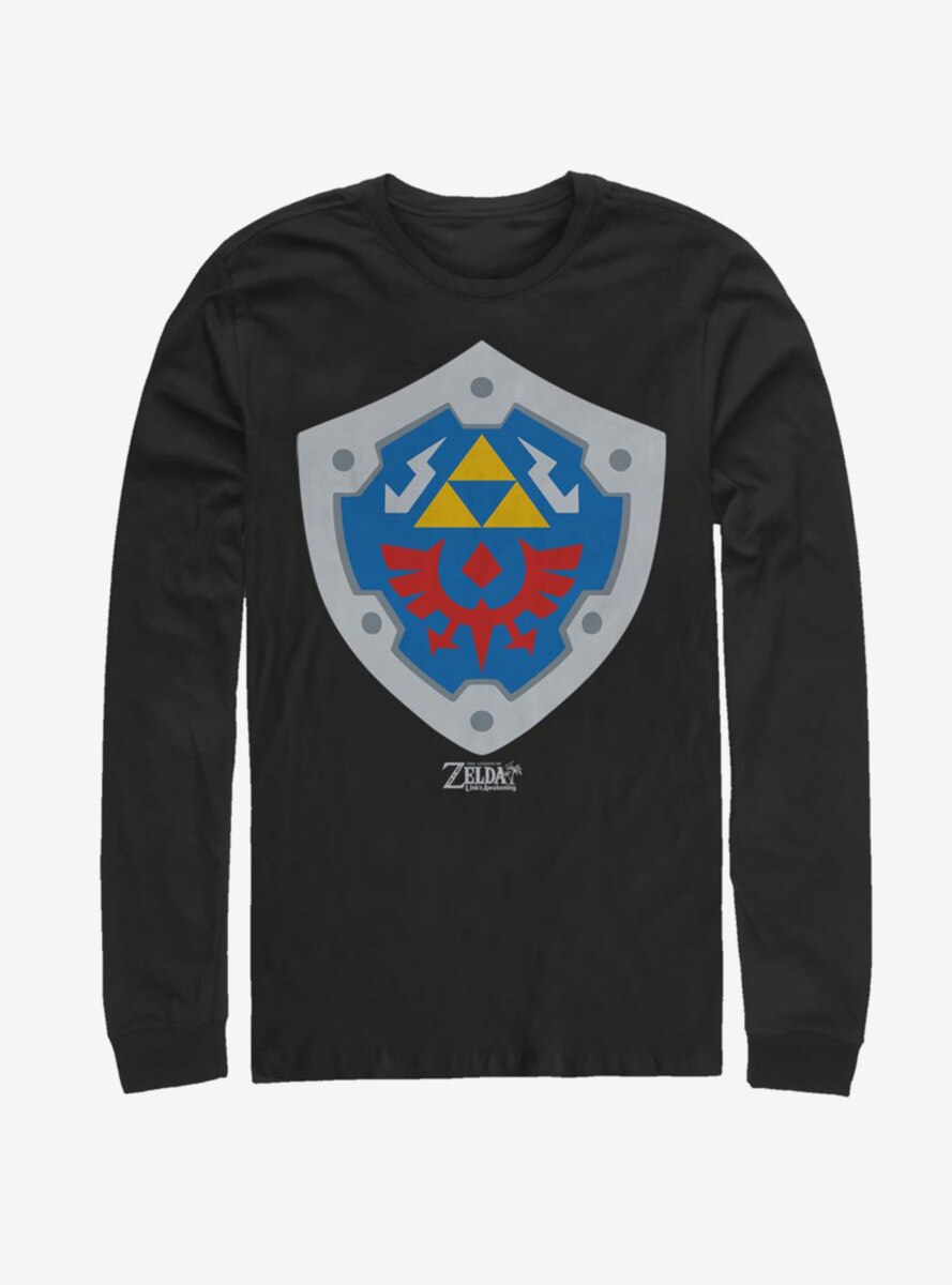 Nintendo The Legend of Zelda: Link's Awakening Hylian Shield Long-Sleeve T-Shirt