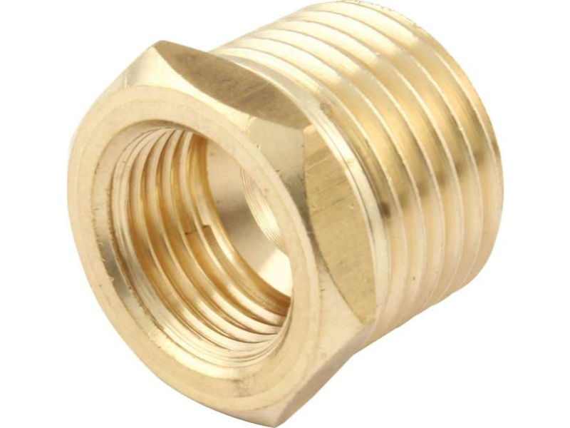 Quickcar Racing Products Brass Temp Adapter 1/2 NPT