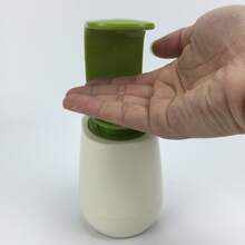 1 pieza dispensador de jabon de plastico