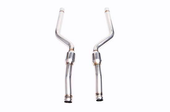 IPE Front Pipe With Cat Mercedes-Benz C63|C63S W205|C205 14-19