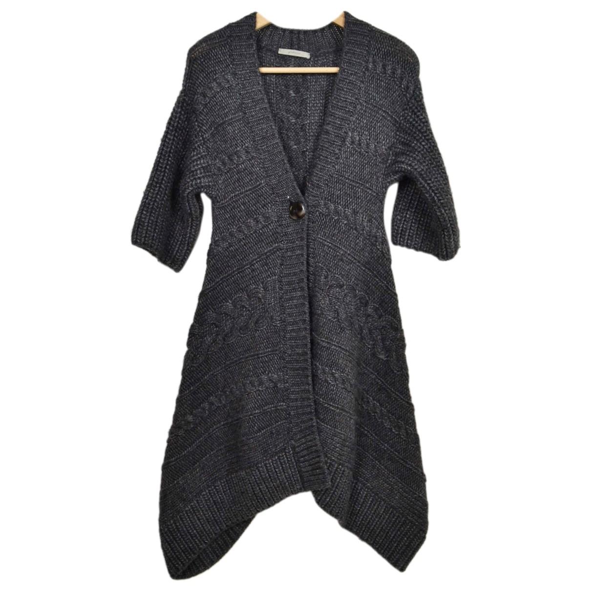 Falconeri \N Pullover in  Grau Wolle