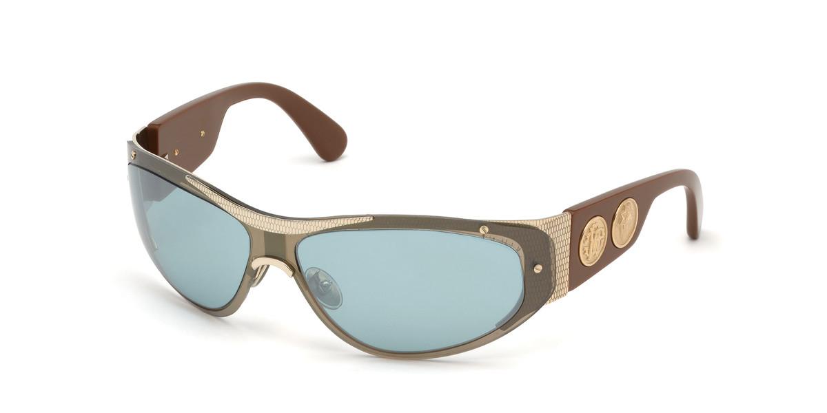 Roberto Cavalli RC 1135 32X Women's Sunglasses Gold Size 64