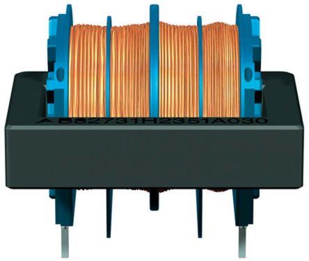 EPCOS 100 mH -30 → +50% Ferrite Common Mode Choke, Max SRF:10kHz, 350mA Idc, 4.5Ω Rdc, B82731H (3)