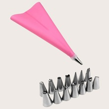 16pcs Pastry Bag & Piping Nozzle Set